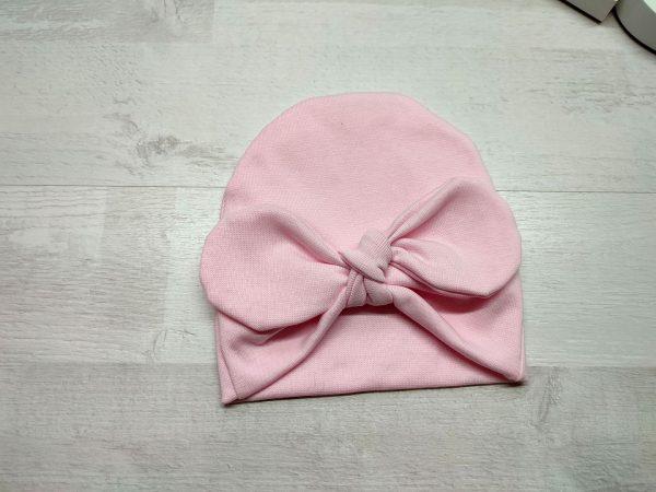 Шапочка-солоха 2 слоя розовая