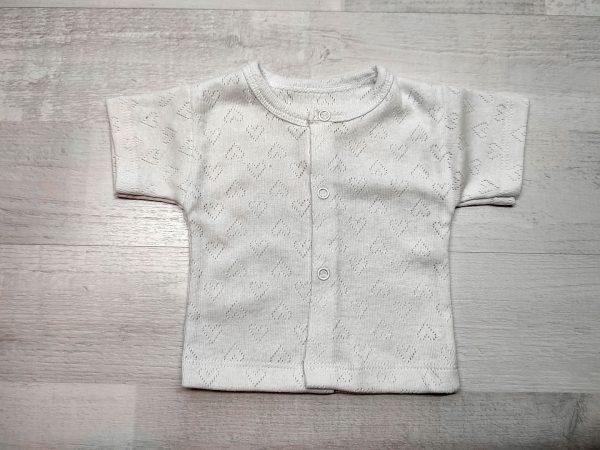 Кофта ажурная детская белая