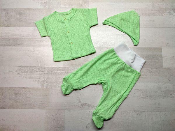 Костюм ажурный детский зелёный