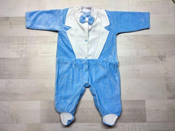 Комбинезон-фрак детский голубой