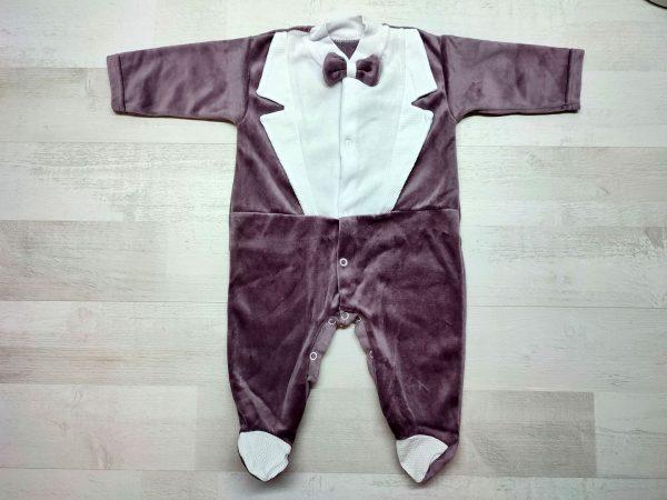 Комбинезон-фрак детский коричневый
