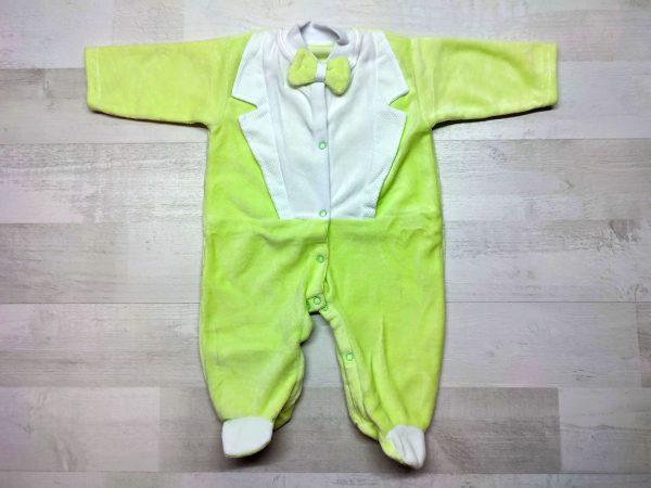Комбинезон-фрак детский зелёный