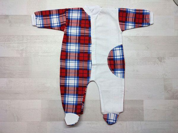 Комбинезон-пижама детский красный