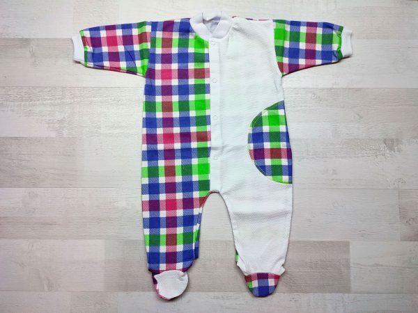 Комбинезон-пижама детский цветной