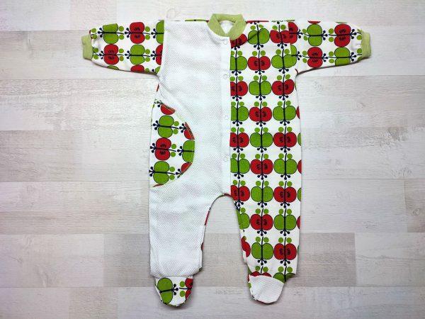 Комбинезон-пижама детский яблоко