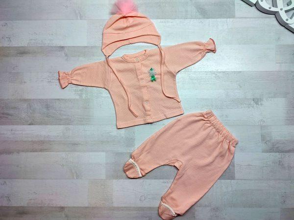 Комплект одежды детский персиковый