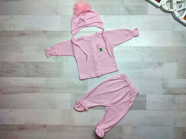 Комплект одежды детский розовый