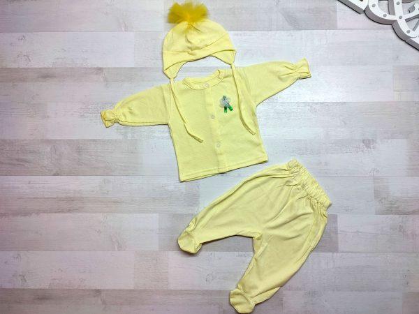 Комплект одежды детский желтый