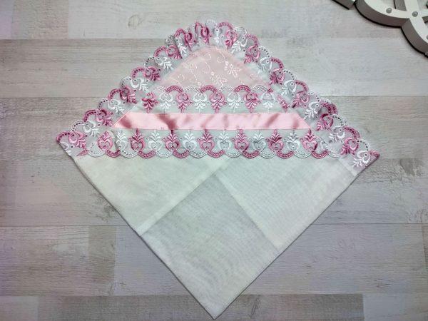 Уголок для выписки розовый